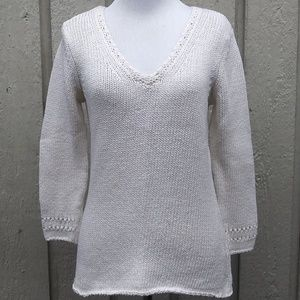 J.Jill cotton knit sweater